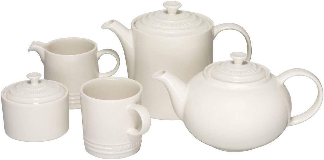 Le Creuset 1.3 L Stoneware Classic Teapot - Almond Cream