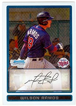 e6f79be2ad9 Image Unavailable. Image not available for. Color  Wilson Ramos baseball  card (Twins Washington Nationals Catcher) 2009 Topps ...