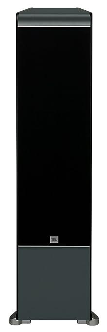 JBL ES90BK 4 Way, Dual 8 Inch Floorstanding Speaker   Black