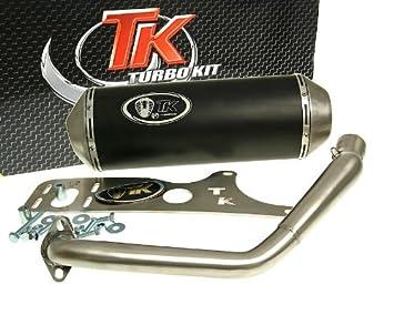 Turbo Kit Gmax 4T Tubo de escape para Kymco Agility 125 (MMC/One), Movie XL 125: Amazon.es: Coche y moto