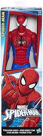 Figura de acción de Spider-Man 30 cm con articulación básica,Figura de Spider-Man con gran lujo de d