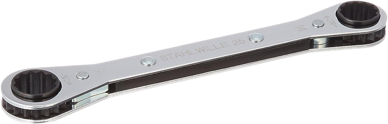 STAHLWILLE QuickRelease stw2514/X 15/Ratschenkopf Kn/üppel