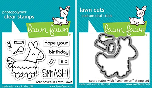 lawn-fawn-pinata-clear-stamp-die-set-year-seven-2-item-bundle