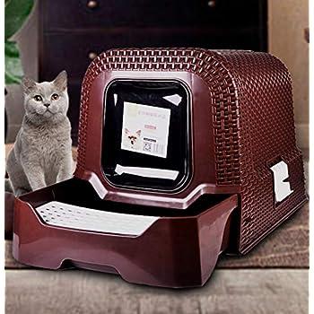 Amazon Com Dtxdzxcjbc Pet Litterbox Top Entry Cat Litter