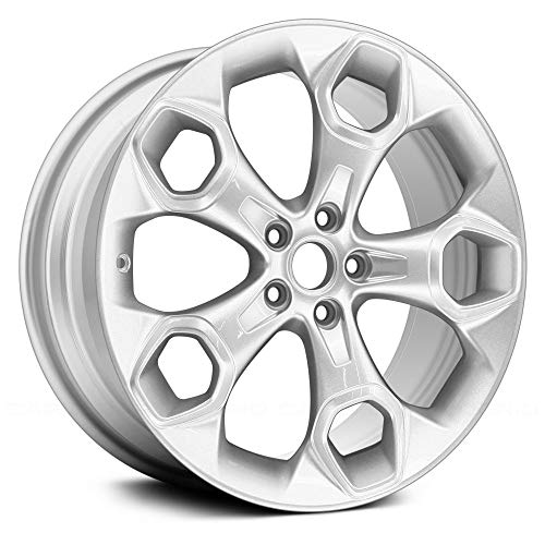 - Value 5 Spokes All Painted Sparkle Silver Metallic Factory Alloy Wheel OE Quality Replacement
