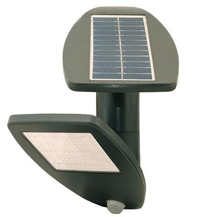 Green Blue gb921 Solar lámpara de pared con sensor de movimiento, Garden Party, detector