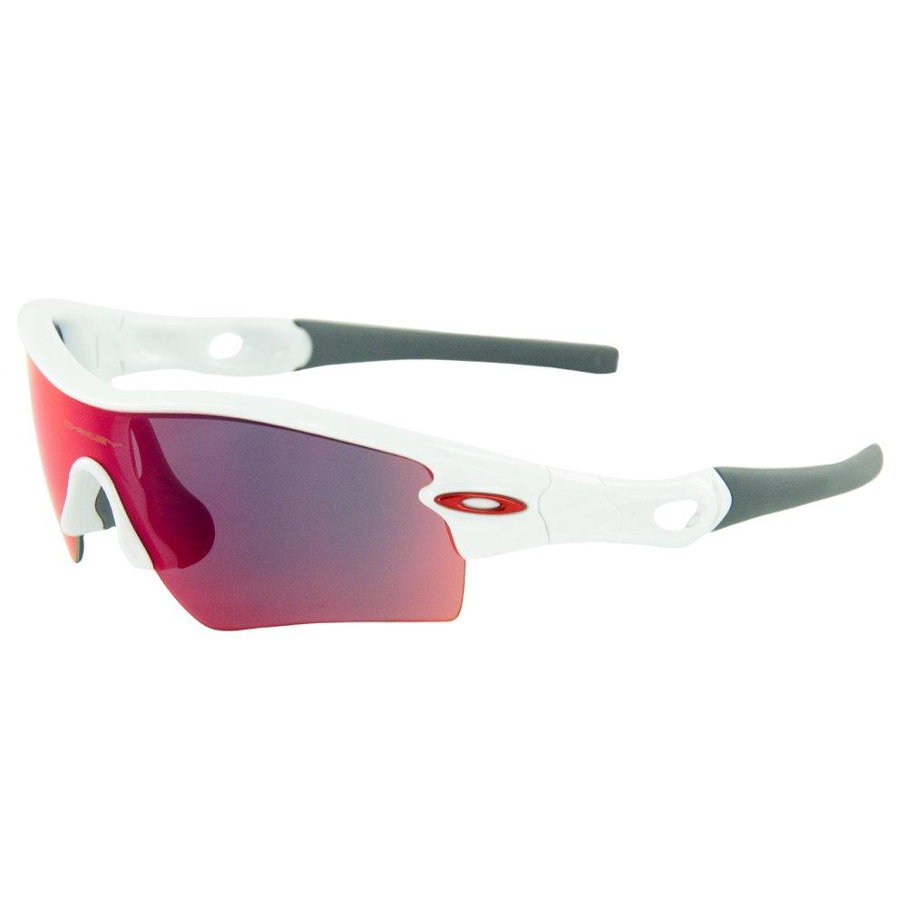 0ea5150e096d Amazon.com  Oakley Men s Radar Path Polished White w  Red Iridium  Sunglasses  Shoes