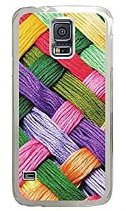 Samsung Galaxy S5 Woolen Art PC Custom Samsung Galaxy S5 Case Cover Transparent