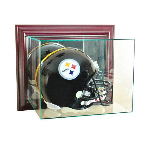 Wall Mounted Football Case (Wall Mounted Glass Football Helmet Display Case)