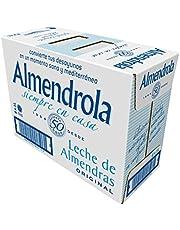 Almendrola Leche de Almendras Original - Paquete de 6 x 1000 ml - Total 6000 ml