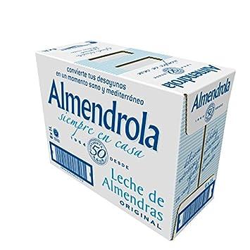 Almendrola Leche de Almendras Original - Paquete de 6 x 1000 ml - Total 6000 ml: Amazon.es: Amazon Pantry