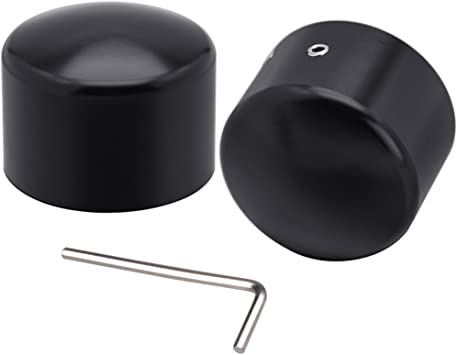 Front Axle Nut Cover For Touring Electra Glide Ultra Classic FLHTCU Motorcycle