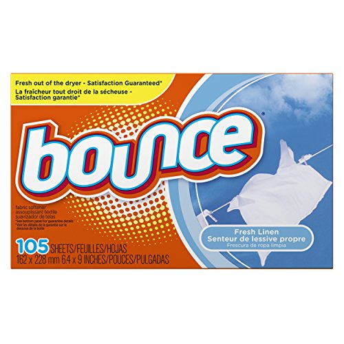 Procter And Gamble Bounce Fabric (Bounce Linen Sheets, Fresh, 105 Count)