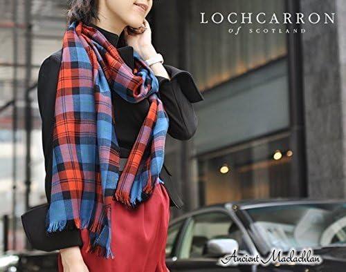 [ロキャロン] Lochcarron of scotland英国スコットランド製 ストール 薄手 ピュアニューウール 大判 タータンチェック (エイシャントチザムハンティング)