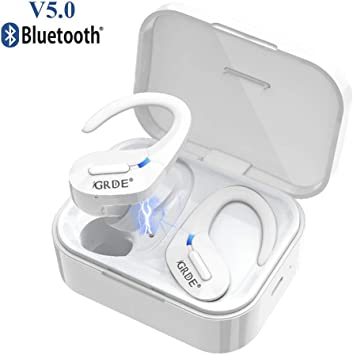 GRDE Auriculares Bluetooth, Auriculares Inalámbricos Mini Twins In ...