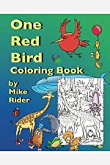 One Red Bird Coloring Book Paperback
