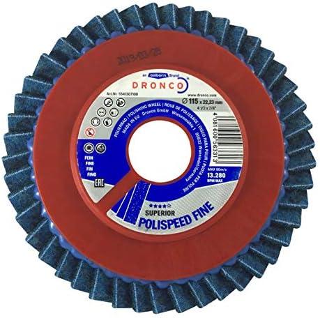 Polispeed Polierrad fein für Winkelschleifer 115 x 22,23 mm 1 Stück