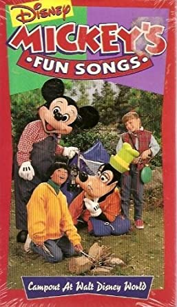 Amazon Com Mickey S Fun Songs Campout At Walt Disney World Sing
