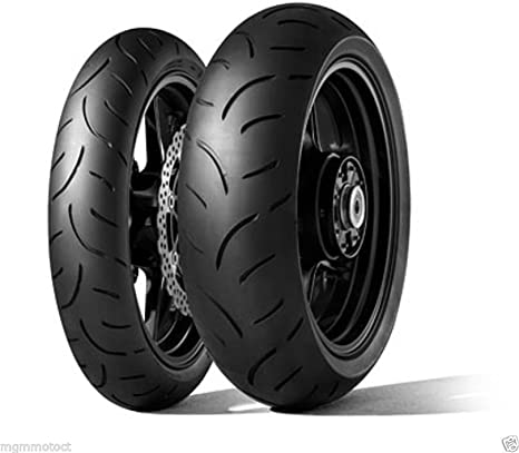 Coppia pneumatici Dunlop Sportsmart 2 Max 120//70 ZR 17 58W 190//55 ZR 17 75W