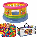 : Intex Jump-O-Lene, Jump-N-Gym Packed w/ 100 Balls