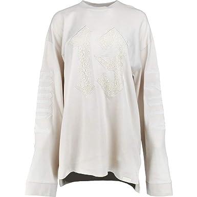 b92280dd70f PUMA Womens x Fenty by Rihanna Long Sleeve Graphic Crew Neck Tshirt Casual  Tops Pink at Amazon Women s Clothing store