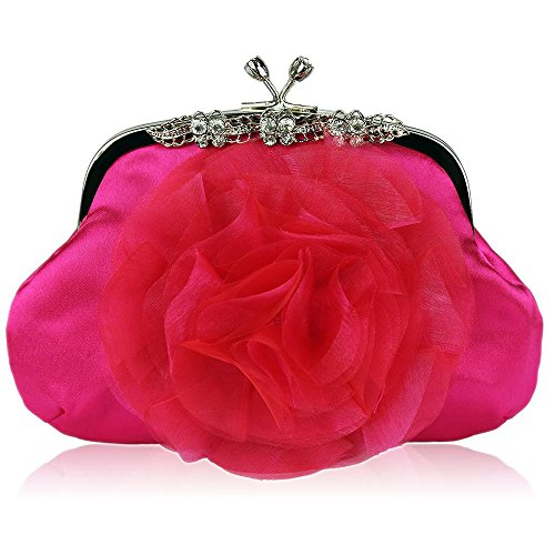 TrendStar - Cartera de mano para mujer rosa - Rosa 1