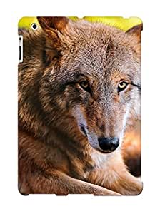 Exultantor High Grade Flexible Tpu Case For Ipad 2/3/4 - Animal Wolf( Best Gift Choice For Thanksgiving Day)
