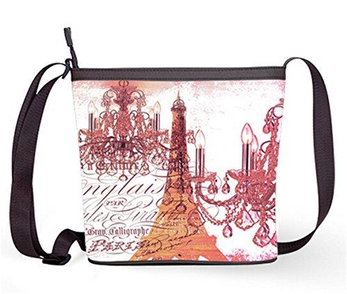 Sling Print and Shoulder Eiffel Crossbody Bag Sling Popular with Bag Casual Fashion Tower Eiffel10 Bag Bag Female 6pAfx