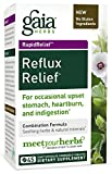 Best Acid Refluxes - Gaia Herbs Rapidrelief Reflux Relief Tablets, 45 Count Review
