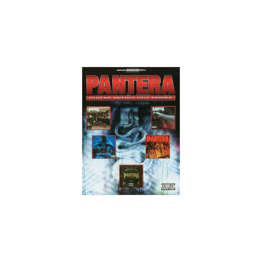 Pantera Guitar Anthology (Guitar Anthology Series) Tapa blanda 1999