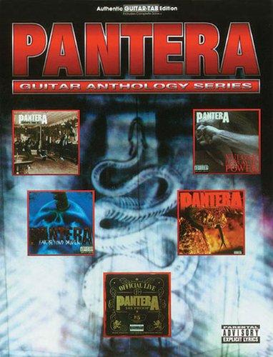 Pantera Guitar Anthology (Guitar Anthology Series) ()