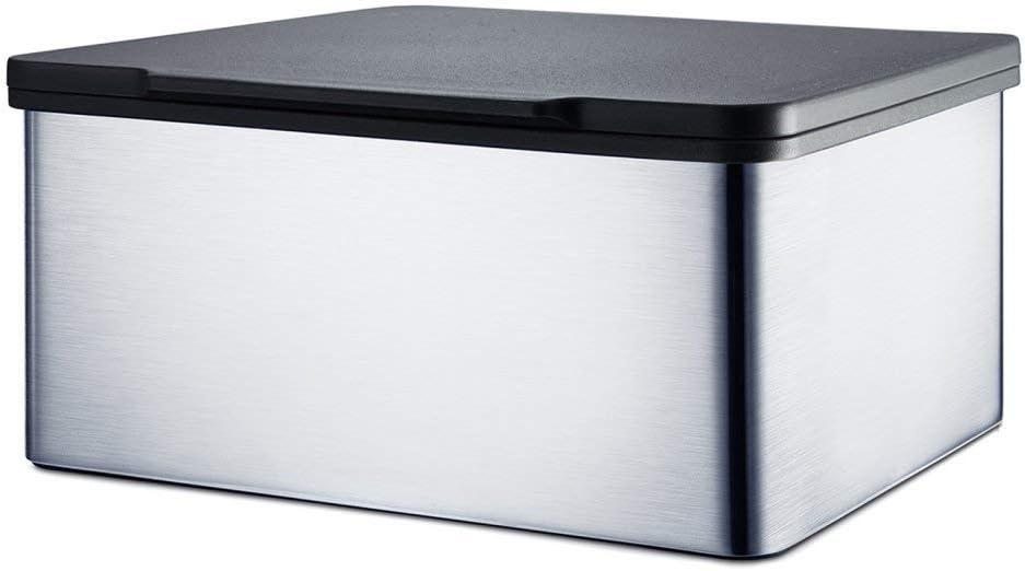 Edelstahl poliert Blomus 68822 Feuchtt/ücherbox Menoto