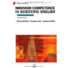 MINIMUM COMPETENCE IN SCIENTIFIC ENGLISH N.E.