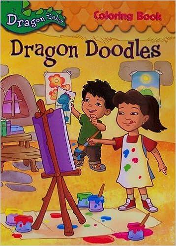 Dragon Tales Dragon Doodles Coloring Book 0786943044621 Amazon