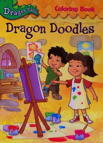 Dragon Tales Doodles Coloring Book 0786943044621 Amazon Books