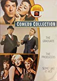 Comedy collection,the Graduate,the Producer , Some like it hot dvd collection