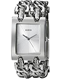 Womens Stainless Steel Multi-Chain Bracelet Watch, Color: Silver-Tone (Model