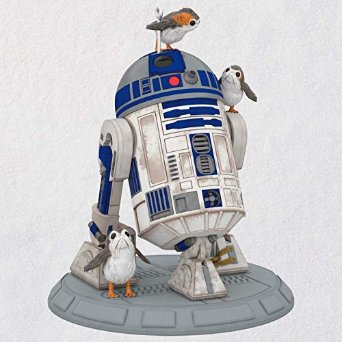 Christmas Feather Ornaments (Hallmark Keepsake Christmas Ornament 2018 Year Dated, Star Wars R2D2 Porgs of a Feather, The The Last Jedi)