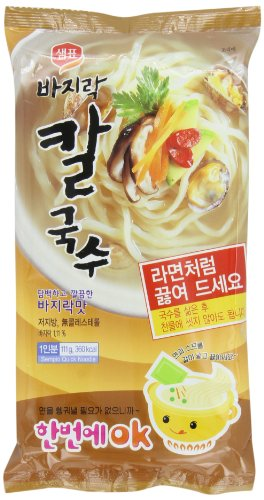 Sempio Instant Noodles, Clam Flavored, 3.9-Ounce (Pack of 8) by Sempio