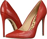 Sam Edelman Women's Danna Pump, Candy red Leather, 6.5 M US