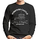 Royal Wedding Windsor Castle Harry and Meghan Men's Sweatshirt