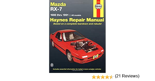 Mazda rx 7 automotive repair manual1986 thru 1991 all modelsno mazda rx 7 automotive repair manual1986 thru 1991 all modelsno 61036 haynes repair manuals paperback haynes 9781563920073 amazon books fandeluxe Images