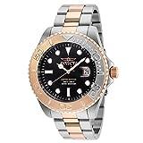 Invicta Men's 'Pro Diver' Quartz Stainless Steel Diving Watch, Color:Two Tone (Model: 24625)