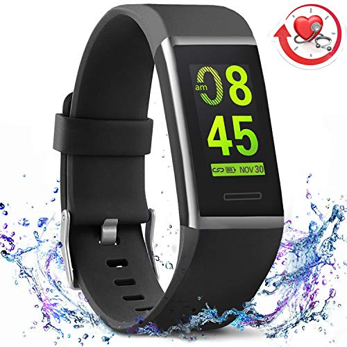 MorePro X-Core Fitness Tracker HR, Waterproof Color Screen