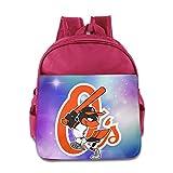 Amone Baltimore Oriole Toddler Kid Preshool Schoolbag Pink