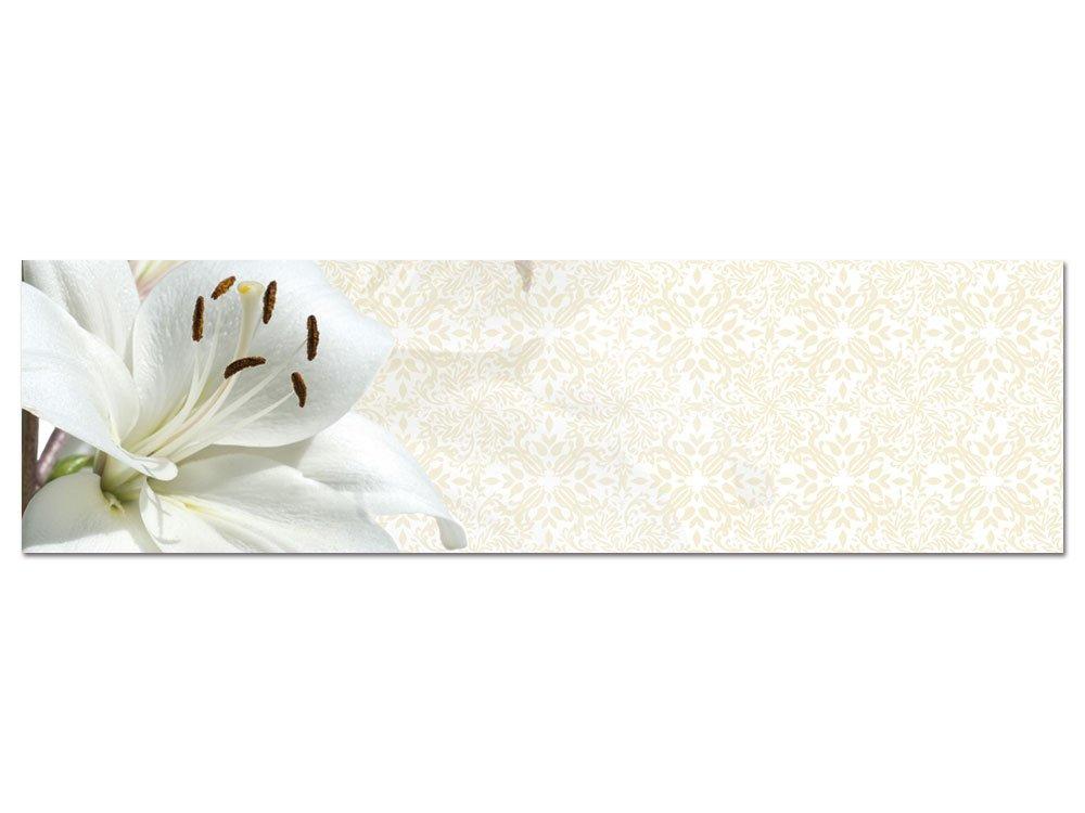 GRAZDesign 100349_004_01_04 Wandbild mit mit mit Blüten Einer Lilie   Blumenbilder für Wohnzimmer Küche als Hochwertiges Kunstdruck aus Acrylglas (180x50cm) 11ba5b