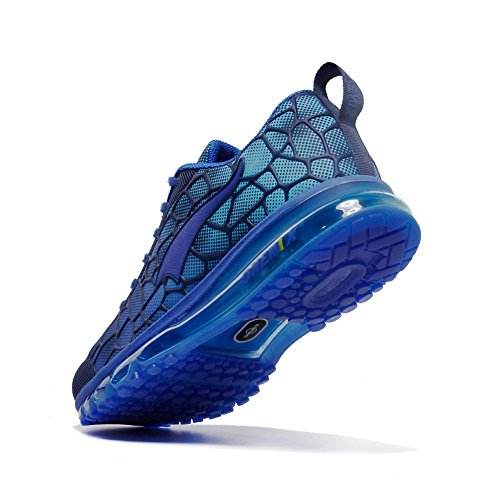 Mujer Azul Running Luna Unisex Zapatillas Deportes de Hombre Onemix Air Atlético Adulto Respirable 75vW6qxf