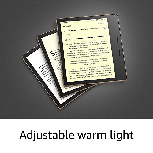 Kindle Oasis – Now with adjustable warm light – Ad-Supported