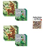 The Good Dinosaur Party Supply Lunch and Beverage Napkins Bundle