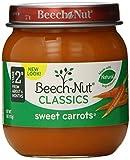 Beech-Nut Classics, Sweet Carrots, 4 Ounce (Pack of 10)